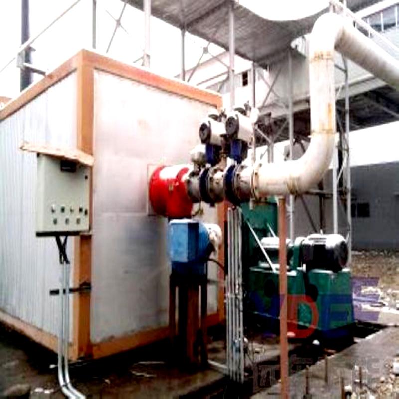 高炉煤气燃烧器使用现场