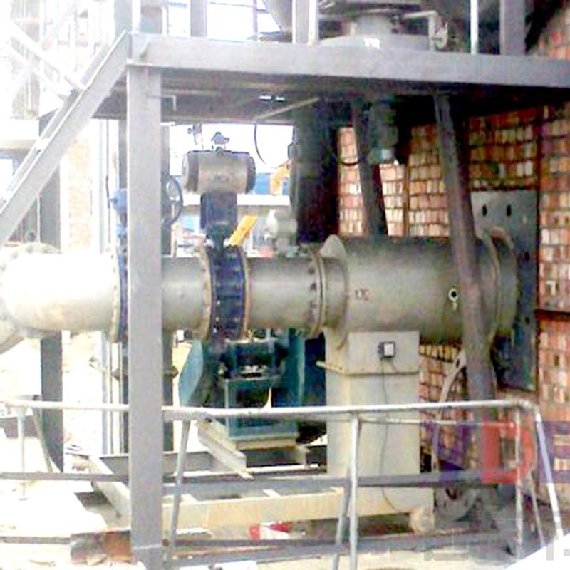 电石炉尾气燃烧器使用现场