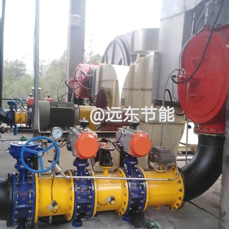 三台1200万大卡黄磷尾气低氮机一次通过验收