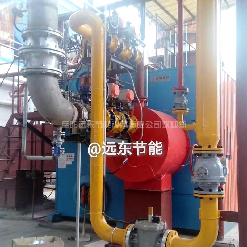 沼气天然气两用超低氮燃烧器